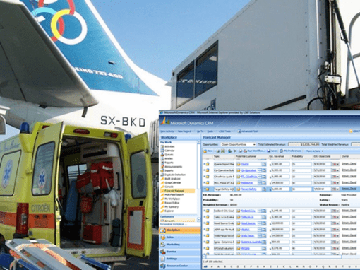 Ms CRM solution in case management process for medical emergencies
